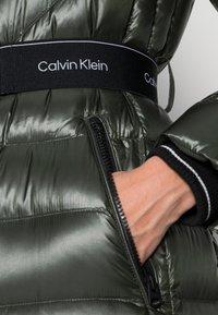 Calvin Klein - LOFTY COAT - Down coat - dark olive - 4
