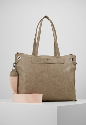 BELIA - Shopping bag - stone