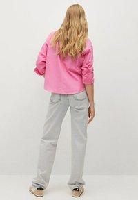 Mango - Button-down blouse - rose - 2