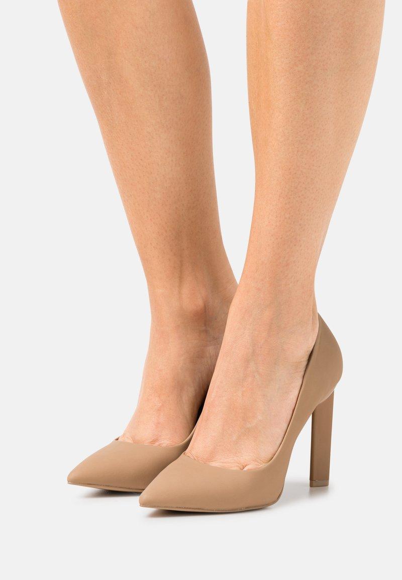Call it Spring - VEGAN DIORAA - Zapatos altos - bone