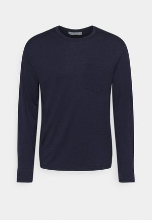 MENS RAVYN POCKET CREWE - Undertröja - midnight navy