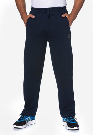 MIT ELAST - Tracksuit bottoms - navy