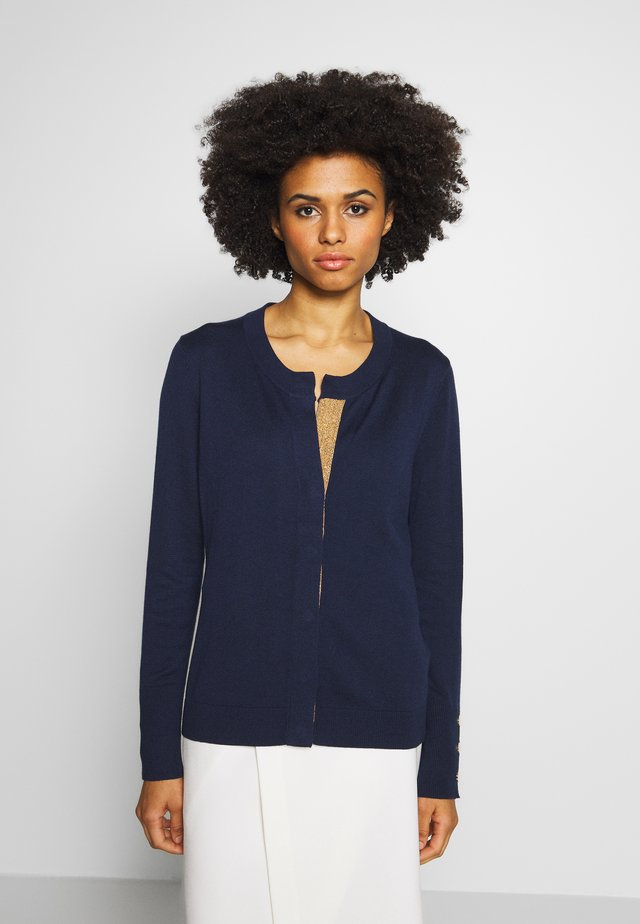 CLAIRE GLAM CARDIGAN - Strickjacke - navy