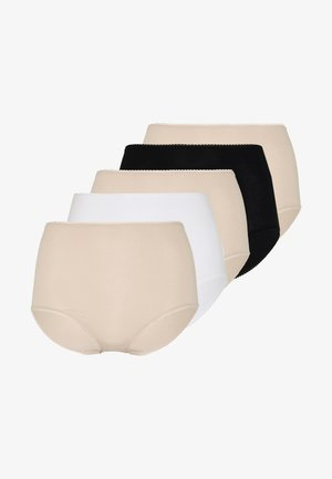 FULL BRIEF 5 PACK - Braguitas - almond mix