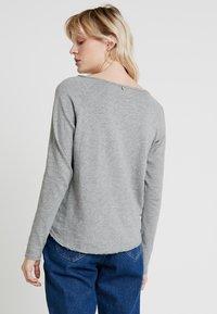 Rich & Royal - HEAVY LONGSLEEVE - Long sleeved top - grey melange - 2