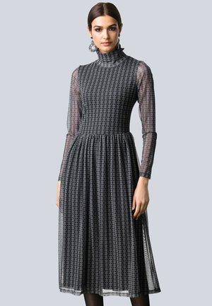 Jumper dress - schwarz,taupe