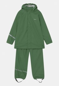 CeLaVi - BASIC RAINWEAR SET UNISEX - Waterproof jacket - elm green - 0