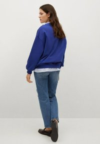 Mango - Sweatshirt - bleu - 2