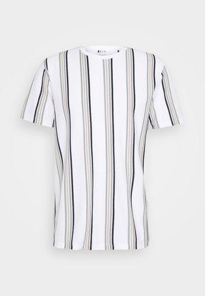 LUKE - T-shirt con stampa - white