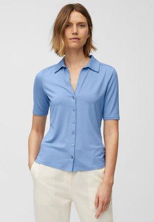 Button-down blouse - blue note