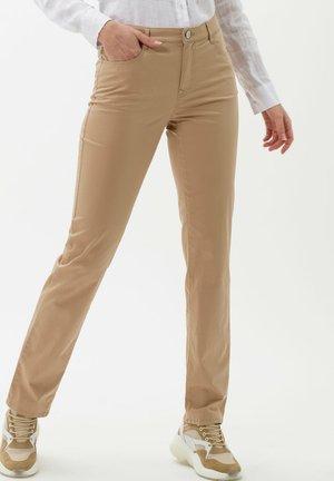 STYLE CAROLA - Trousers - sand