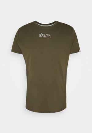 Print T-shirt - mud
