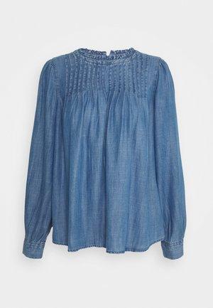 PINTUCK  - Blouse - dark blue