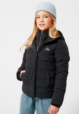JAS JAMIE JR - Gewatteerde jas - washed black
