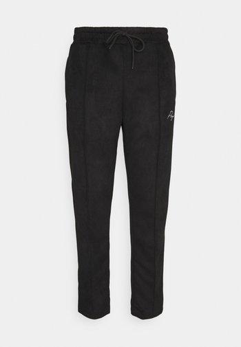 WIDE PANTS - Kalhoty - black