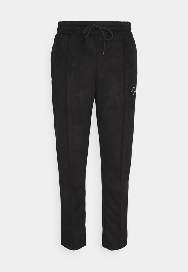 WIDE PANTS - Pantaloni - black