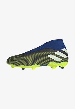NEMEZIZ.3 FG LACELESS FUSSBALLSCHUH - Moulded stud football boots - black