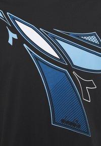 Diadora - FREGIO CLUB - Camiseta estampada - black - 2