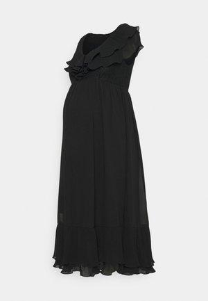 MLTAYLOR WOVEN MIDI DRESS - Vestido informal - black