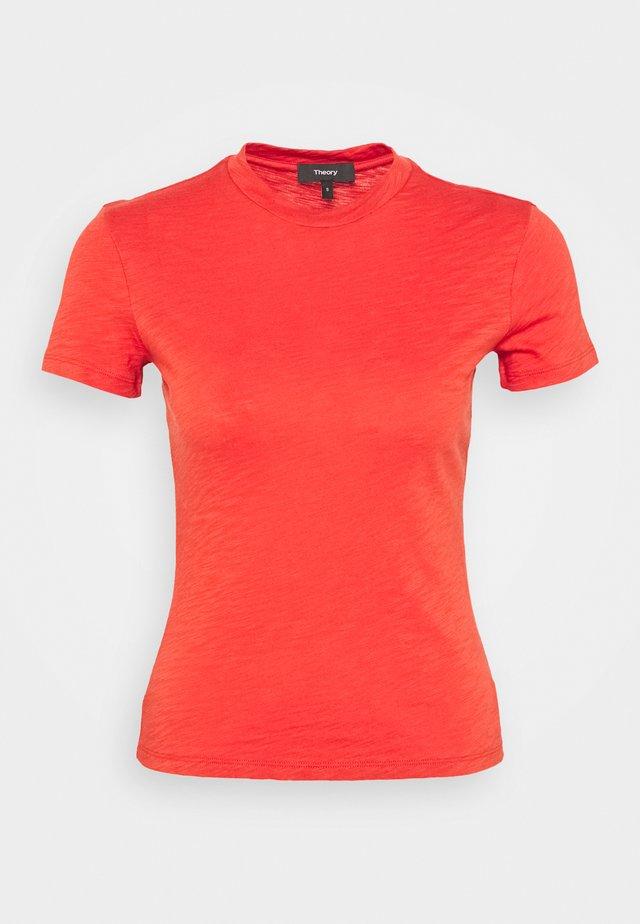 TINY TEE NEBULOUS - T-Shirt print - deep tangerine