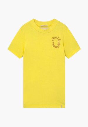 T-shirt print - sunbeam