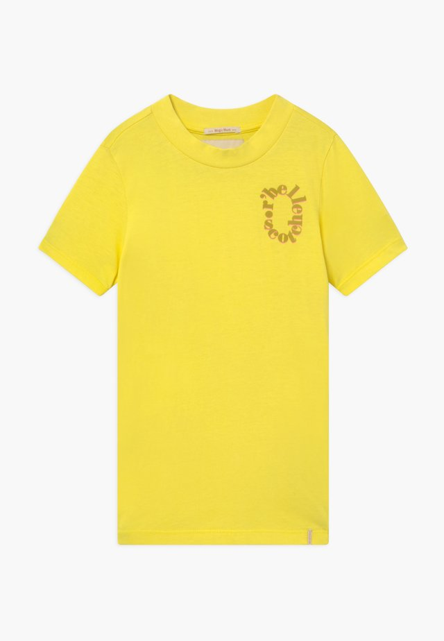 TEE WITH SMALL CHEST ARTWORK - T-shirt imprimé - sunbeam