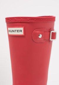 Hunter ORIGINAL - ORIGINAL KIDS - Wellies - military red - 5