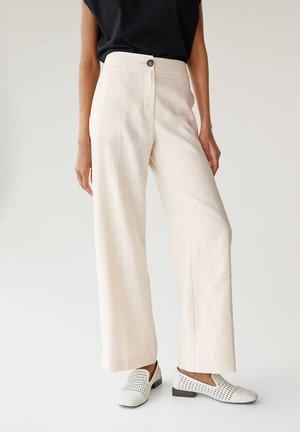 VELA-H - Pantalon classique - crudo