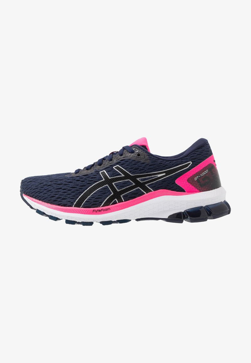 ASICS - Stabilty running shoes - peacoat/black
