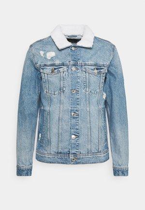 JJIJEAN JJJACKET  - Kurtka jeansowa - blue