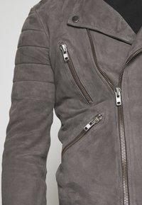 Serge Pariente - GLADATOR - Leather jacket - grey - 5