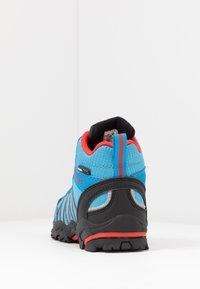 TrollKids - KIDS TROLLTUNGA MID UNISEX - Hiking shoes - medium blue/red - 4