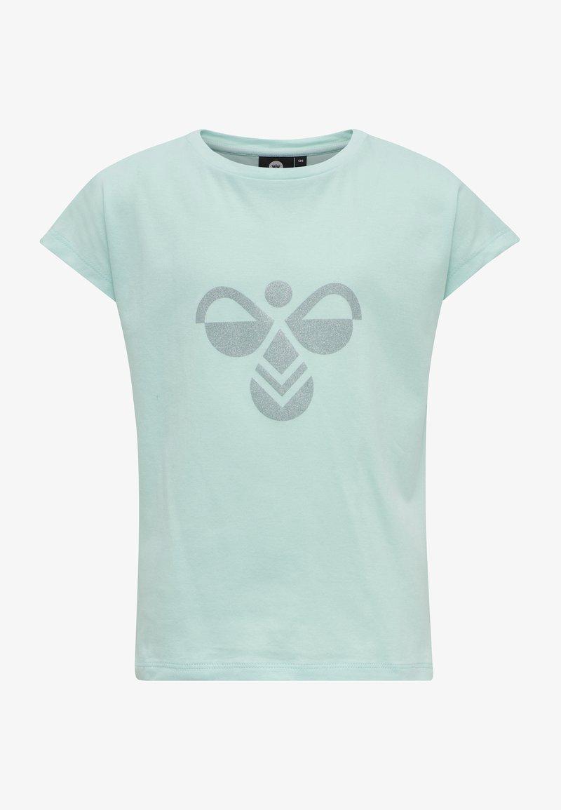 Hummel - Print T-shirt - blue tint