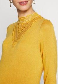 MAMALICIOUS - MLREESE - Camiseta de manga larga - golden apricot - 4