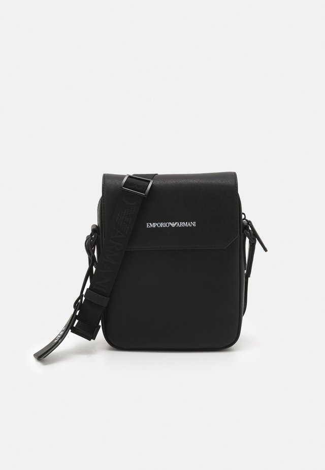 MESSENGER BAG UNISEX - Sac bandoulière - black