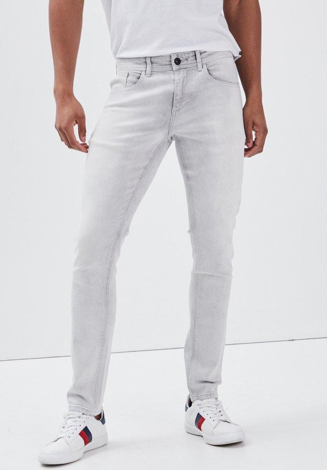 MIT 5 TASCHEN - Jeans slim fit - denim snow gris
