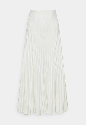 Pliceret nederdel /Nederdele med folder - white