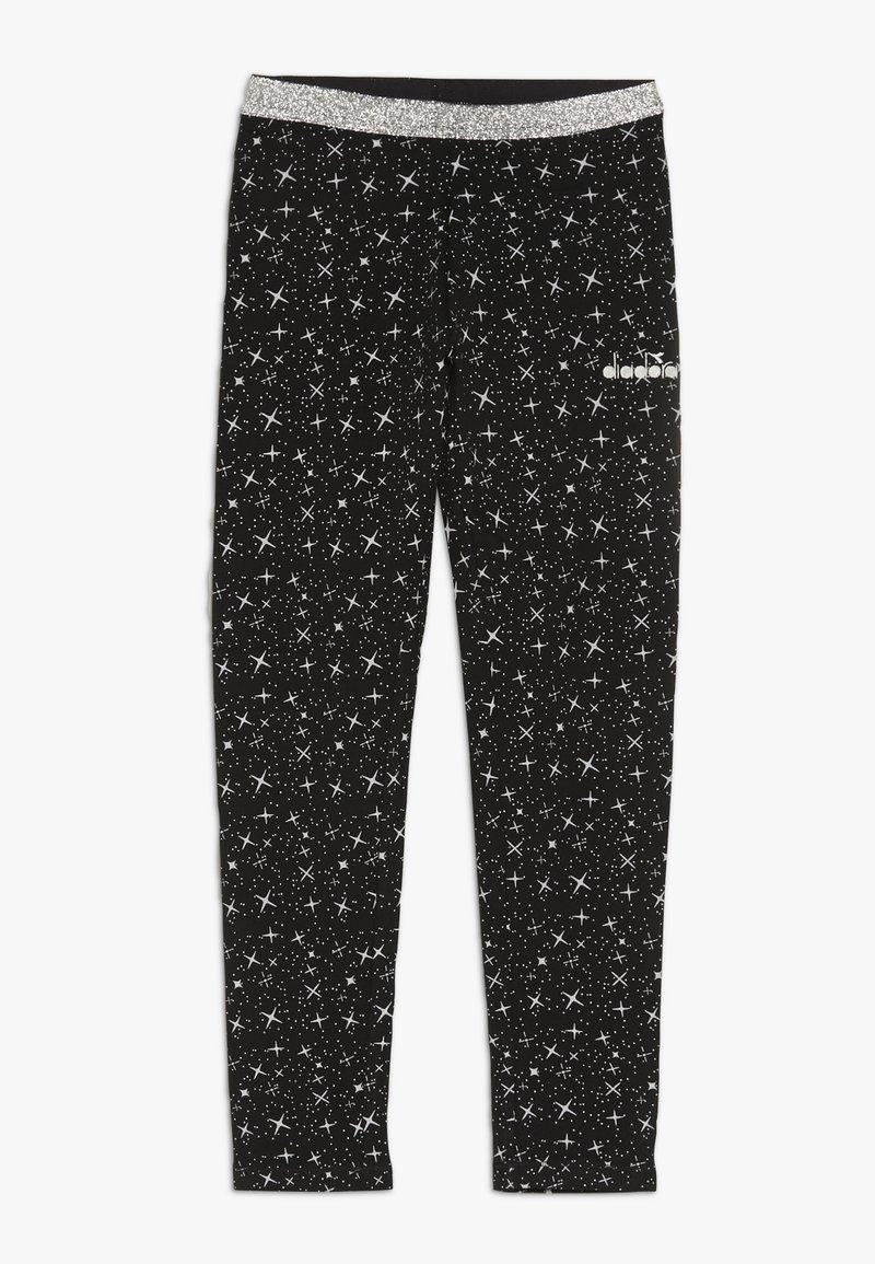 Diadora - LEGGINGS PALLE - Collants - black