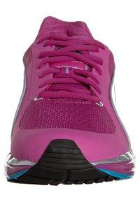 Puma - FAAS 500 W - Chaussures de running compétition - neon/silver/fluo blue - 3