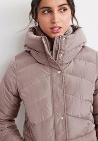 Next - Winter coat - mauve - 1