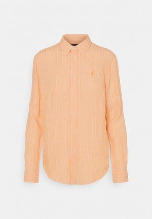 STRIPE LONG SLEEVE - Koszula - peach/white