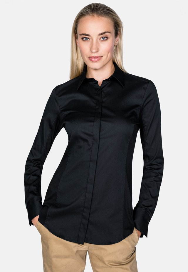 MEGGY-F - Button-down blouse - black