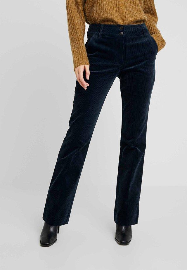 CLARA LONG - Pantalon classique - navy