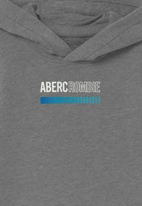 Abercrombie & Fitch - LOGO  - Jersey con capucha - grey - 2