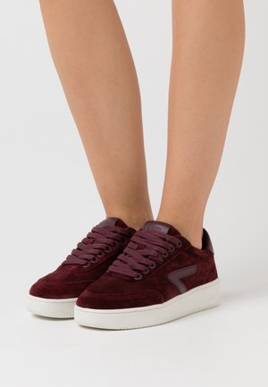 BASELINE - Trainers - burgundy/offwhite