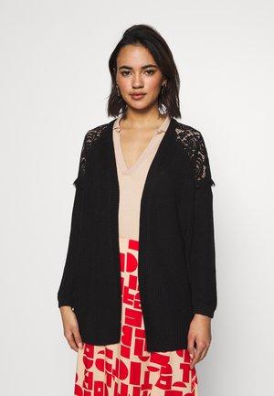 ONLELROSA CARDIGAN - Vest - black