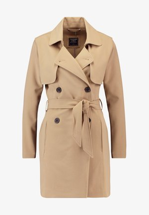 DRAPEY COAT - Trenchcoat - kelp