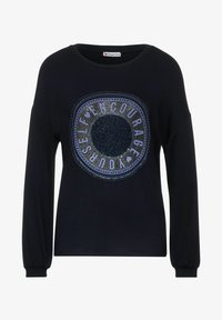 Street One - MIT PARTPRINT - Long sleeved top - blau - 3