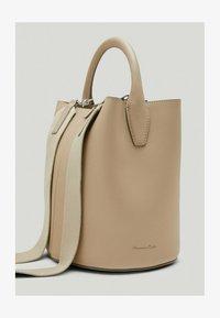 Massimo Dutti - Across body bag - beige - 0
