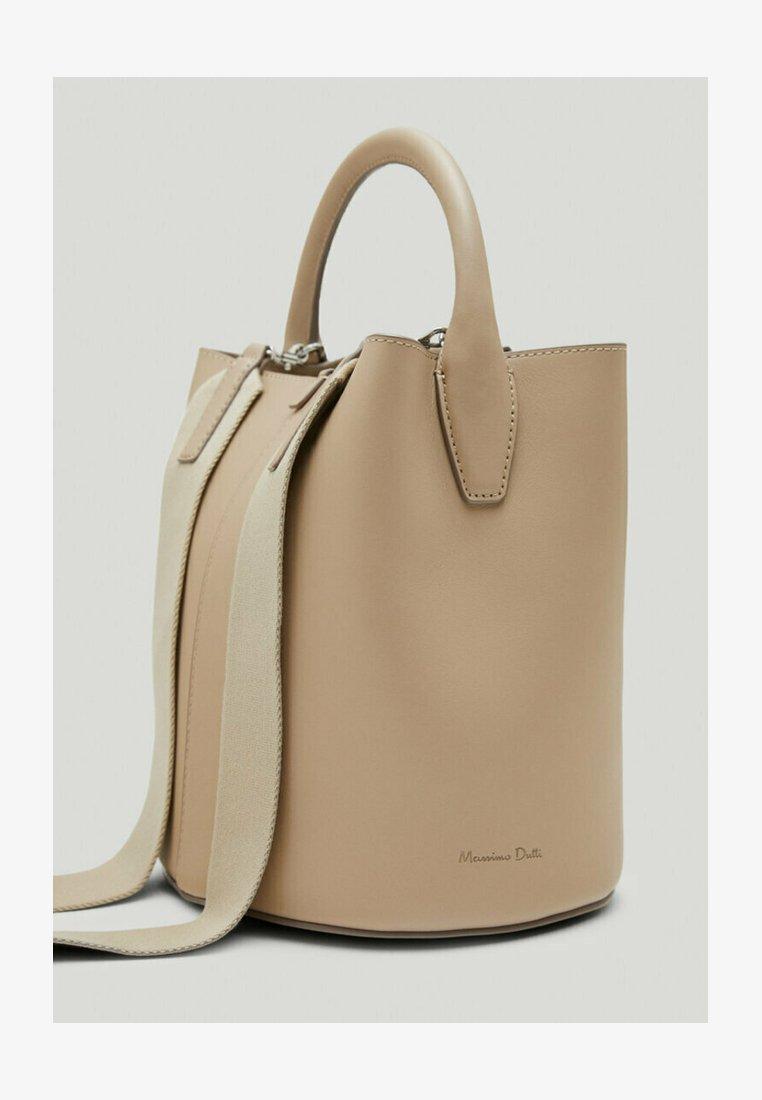 Massimo Dutti - Across body bag - beige